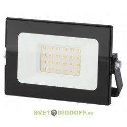 Прожектор светодиодный ЭРА LPR-021-0-30K-020 20Вт 1600Лм 3000К 136х53х188