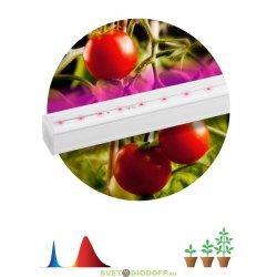 Линейный светодиодный светильник для выращивания растений FITO-9W-Т5-N