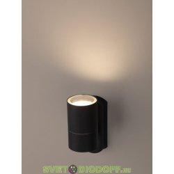 Декоративная подсветка настенная GU10 MAX35W IP54 черный