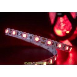 Лента светодиодная эконом 2835, 60 LED/м, 4,8 Вт/м, 12В , IP20, Цвет: Красный