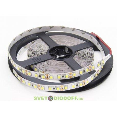 Лента светодиодная стандарт 2835, 120 LED/м, 9,6 Вт/м, 24В , IP20, Цвет: Нейтральный белый