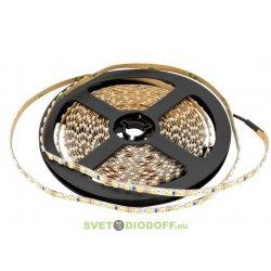 Лента светодиодная стандарт 3528, 120 LED/м, 9,6 Вт/м, 12В , IP20, Цвет: Нейтральный белый