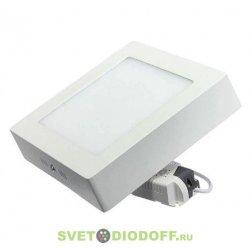 Светильник светодиодный накладной LED downlight накладной Квадратный 170х32 даунлайт с драйвером 12W