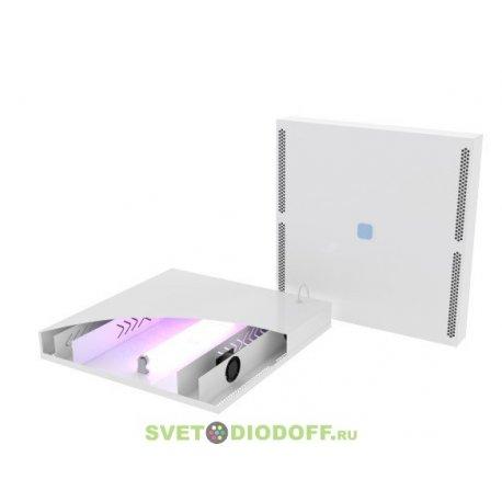 Светильник светодиодный Бактерицидный рециркулятор воздуха SVT-Med-ARM-595-595-UVC-18W