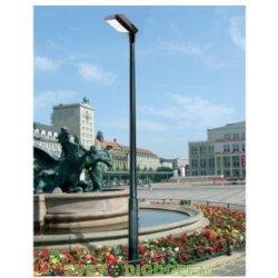 Столб фонарный уличный Fumagalli EKTOR 2500/GIORGIO, 4х10W LED-CMD (4800 Lm/4000К), IP65, 2,7м.п.