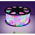 Лента светодиодная полноцвет SMD5050-60 LED/м-220 В-14,4 Вт/м-IP67-RGB (20м)