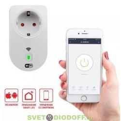 Умная Wi-Fi розетка/дистанционное управление бытовыми приборами 16 А