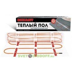 Теплый пол (нагревательный МАТ) REXANT Extra, площадь 4,5 м2 (0,5 х 9,0 метров), 720Вт, (двух жильны