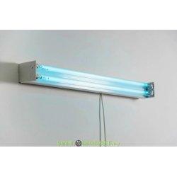 Облучатель бактерицидный открытого типа ОБН-О-2х30 Вт (с ЭПРА, с лампой) до 40м2