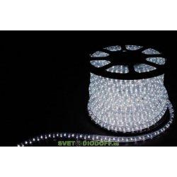 Дюралайт светодиодный LED-F3W 3-х жильный , белый 7000K 2,88Вт/м 72LED/м 220V, 50м*11*18мм