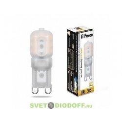 Лампа светодиодная LB-430 G9 5W 2700K