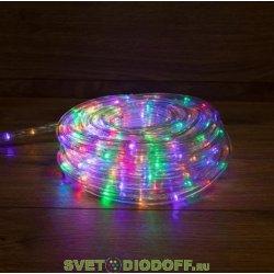 Комплект Дюралайт LED, свечение с динамикой (3W), 24 LED/м, МУЛЬТИ (RYGB), 6м