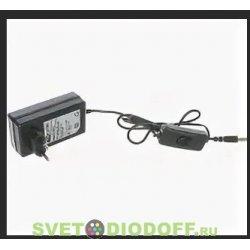 Блок питания (сетевой адаптер) 12-36 для светодиодной ленты DC 12В, 36Вт