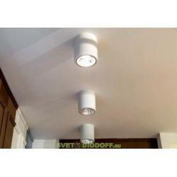 Светильник потолочный AL-2501-90WH Е27 220В 40Вт белый