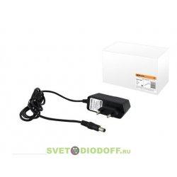 Блок питания 12-12 для светодиодной ленты DC 12В, 12Вт, с сетевым шнуром