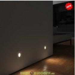 Уличный светодиодный светильник Подсветка для лестниц IP65, 3Вт, 80Лм, 4000К белый