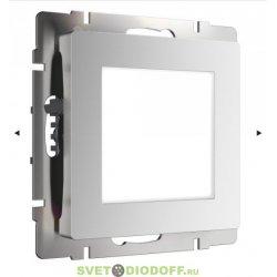 Встраиваемая LED подсветка ступеней, стен 4000К, 1,5Вт серебряный