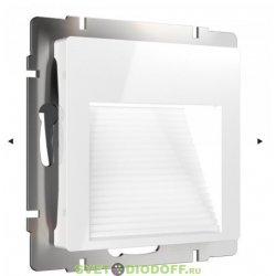 Встраиваемая LED подсветка ступеней, стен 4000К, 1Вт белый