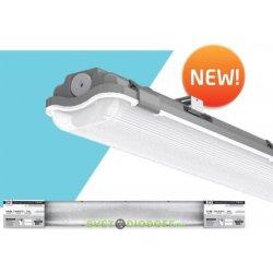 Светильник герметичный под светодиодную лампу ССП-458 2xLED-Т8-1200 G13 230В IP65 1200 мм IN HOME