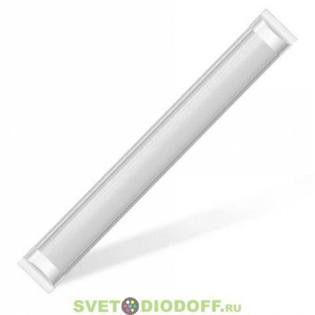 Линейный светодиодный светильник (замена ЛПО и ЛВО) 20,0W 220V 4200K 600x75x25mm
