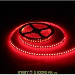Лента светодиодная SMD2835-60 LED/м-IP20-12 В-4,8 Вт/м-красный (5 м) TDM