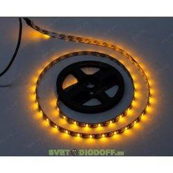 Лента светодиодная SMD2835-60 LED/м-IP20-12 В-4,8 Вт/м-желтый (5 м) TDM