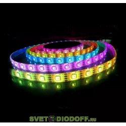 Лента светодиодная SMD5050-60 LED/м-IP65-12 В-14,4 Вт/м-RGB (5 м) TDM