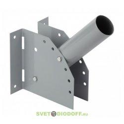 SPP-AC2-0-230-060 ЭРА Кронштейн для уличного светильника с перемен углом 230*150*130 d60mm
