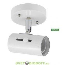 Светильник накладной под светодиодную лампу DL2-0013BK Е27 220В 40Вт черный