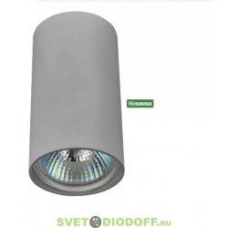 Светильник накладной потолочный под лампу AL-2502 белый GU10 220В 35Вт, d55*h100мм