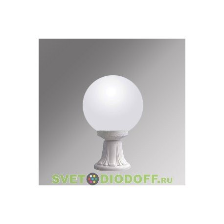 Уличный светильник Fumagalli Microlot/GLOBE 250 белый, матовый