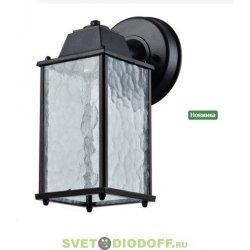 Светильник настенный садовый EL-3113DN E27 60Вт черный IP44