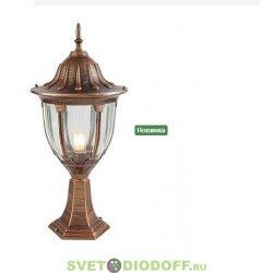 Светильник садовый на подставке EL-342P2 Е27 60Вт IP44 (M) черненное золото