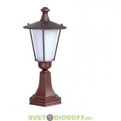 Садовый светильник на подставке EL-495P2 Е27 60Вт IP44 красное античное золото