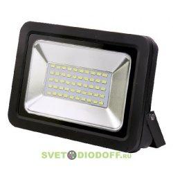 Светодиодный прожектор СДО-5-30 30ВТ 6500К 2400ЛМ IP65