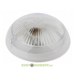 Низковольтный светодиодный светильник Сириус 7,5Вт 24-48V AC/DC Е27 4000К 600Лм, диам. 220мм, поликарб., IP54