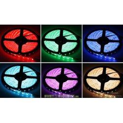 Лента светодиодная PRO 5050, 60Led, 14,4Вт, 24V, RGB, IP65