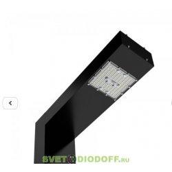 Светодиодный светильник Парк Г-образный 50Вт, 5000К, 8200Лм, IP67, 3020-592 мм анод. черный алюминий 3,0м.п.