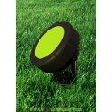 Светильник светодиодный грунтовый Fumagalli TOMMY SPIKE черный, зеленый на колышке 1XGX53 LED с лампой 3W
