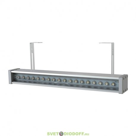 Светодиодный светильник Барокко-10Вт-0500мм, Оптик 25градусов, 3000К, 1100Лм, IP67