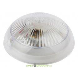 Светильник накладной c фото- шумовым датчиком IP54, 220V 60Вт Е27, НБП 06-60-101