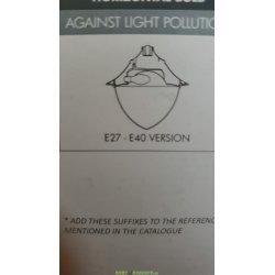 Светильник уличный торшерный Fumagalli VIVI 400 серый (без крепления) с лампой спектр на выбор 3000К, 4000К