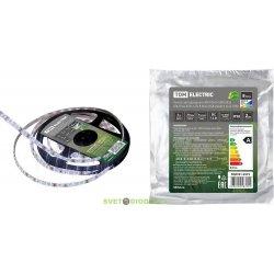 Лента светодиодная цветная + белый SMD5050+SMD2835 60LED/м-IP20-12 В-8 Вт/м-RGB+6000 К (5 м)