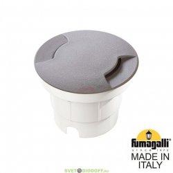 Тротуарный светильник (корпус серый, плафон матовый) Fumagalli Ceci 120-2L 1хGX53 LED с лампой 350Lm, 3000К