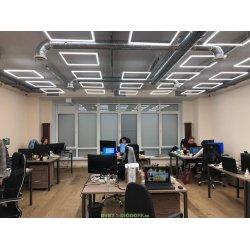 Светодиодный светильник-рамка 40Вт 3060Лм 4000К Ra80 БЕЛ без драйвера SPL-7-40-4K (W)