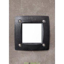 Светильник уличный (подсветка ступеней, отмостки) FUMAGALLI LETI 100 SQUARE LED черный/опал 1xGX53 LED с лампой 3W