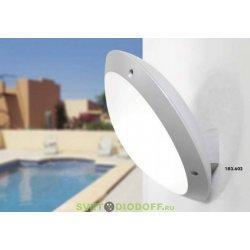 Влагозащищенный уличный светильник IP66 Fumagalli Remi/Lucia, белый, опал