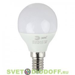 Лампа светодиодная ЭРА LED smd Р45-6w-840-E14 ECO