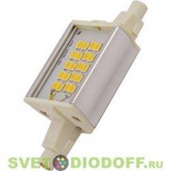 Светодиодная лампа для прожектора Ecola Projector  LED Lamp Premium 6,0W F78 220V R7s 6500K (алюм. радиатор) 78x20x32