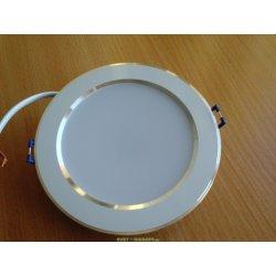 Светильник светодиодный DC031 WH 3000K SMD 9Вт 220В (520Лм) белый, ст/мат, d113 теплый белый